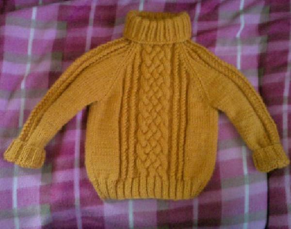 Вязание свитера реглан для мальчика 6 лет